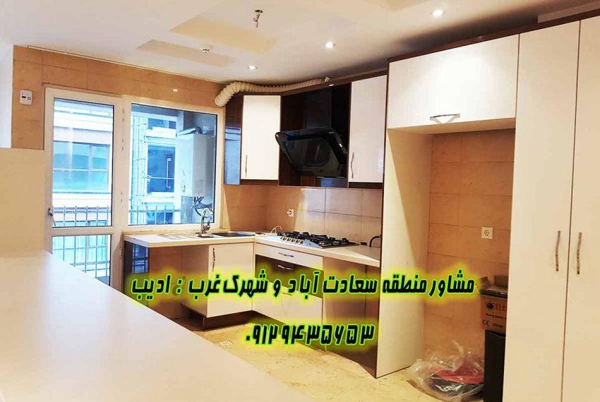 خرید خانه در سعادت آباد