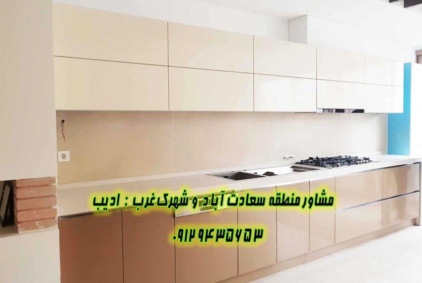 فروش آپارتمان نوساز در سعادت آباد 24 متری