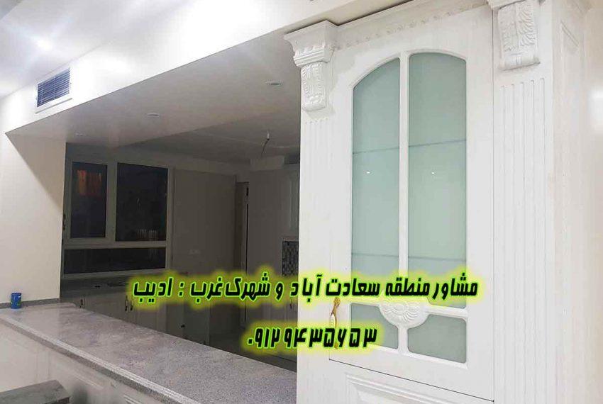 قیمت آپارتمان نوساز در سعادت آباد