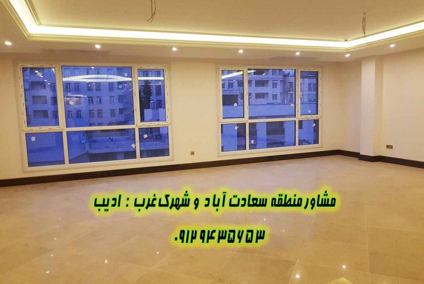 قیمت خرید و فروش خانه در ۲۴ متری سعادت آباد