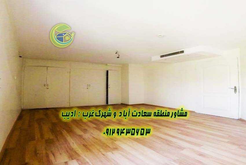 فروش آپارتمان در بام تهران سعادت آباد