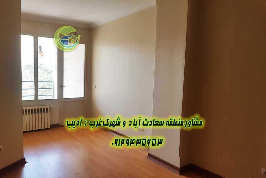 آپارتمان ۱۹۲ متری سعادت آباد