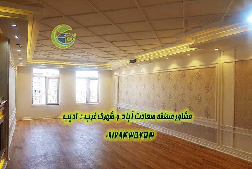 سعادت آباد بلوار 24 متری