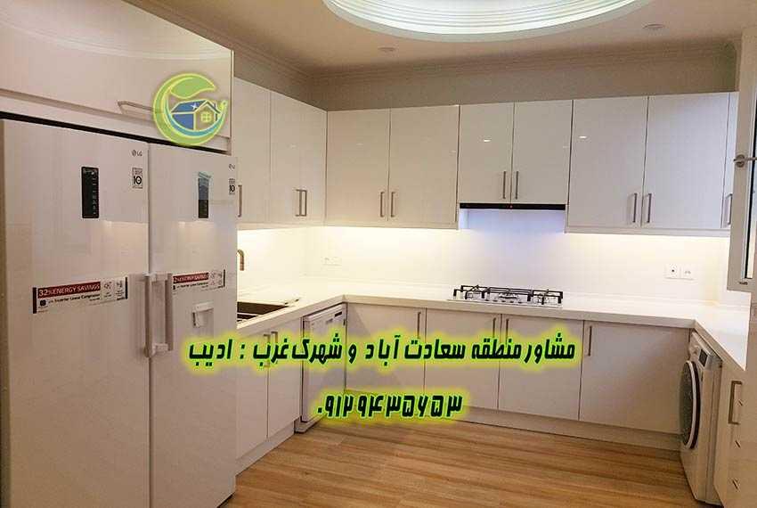 قیمت آپارتمان 120 متری مروارید سعادت آباد