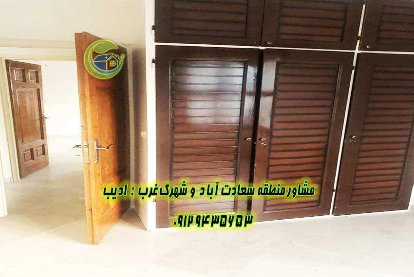 75 متر سعادت اباد میدان شهرداری فروشی
