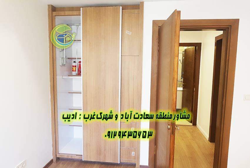 قیمت آپارتمان سعادت آباد در مجتمع باغ بهشت