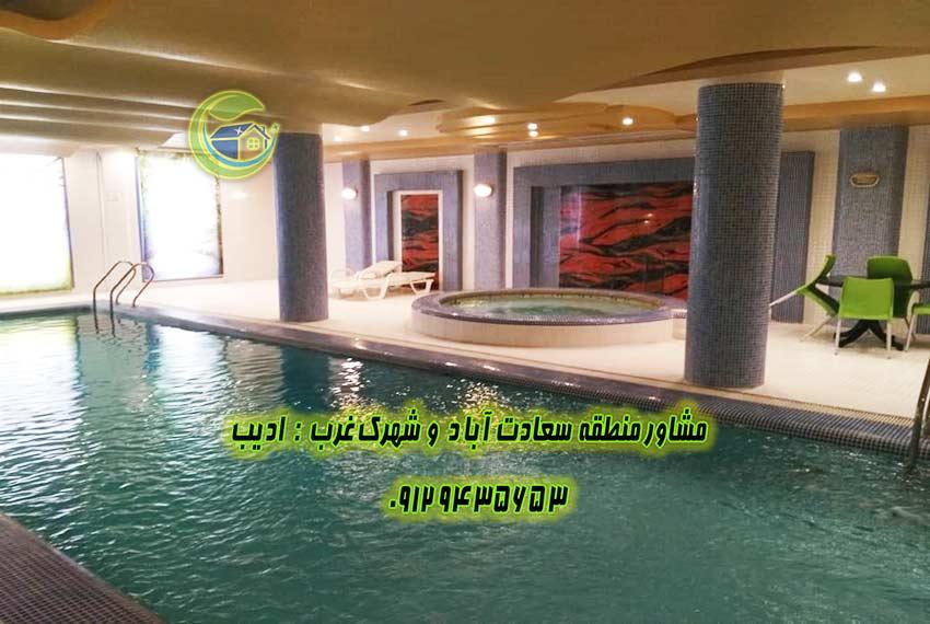 قیمت برای خرید آپارتمان سعادت آباد