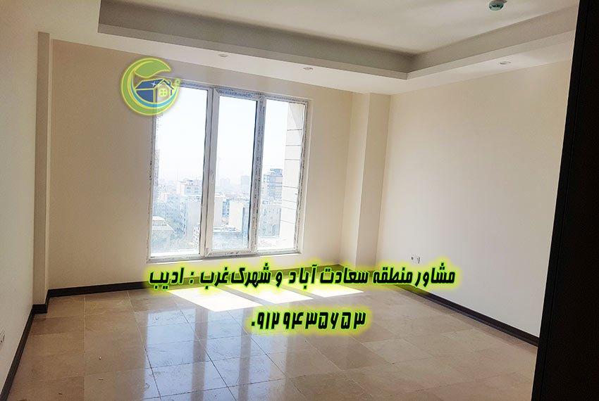 اجاره آپارتمان در سعادت آباد