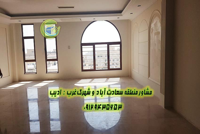 فروش آپارتمان 170 متری سعادت آباد