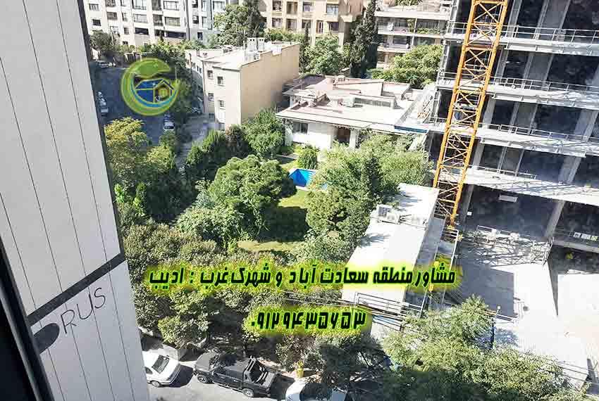 200متری مروارید سعادت آباد