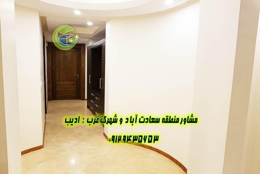 فروش آپارتمان در بلوار 24 متری سعادت اباد