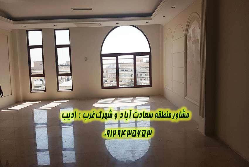 اجاره اپارتمان 170 متری بلوار سعادت آباد