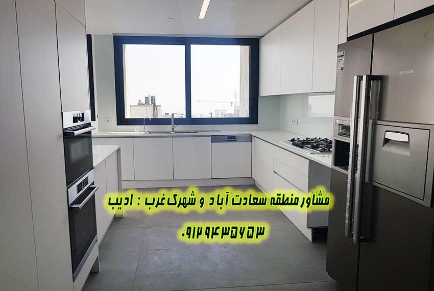 فروش 145 متر دز سعادت آباد