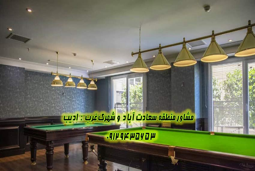 فروش آپارتمان در سعادت آباد ساختمان ممتاز