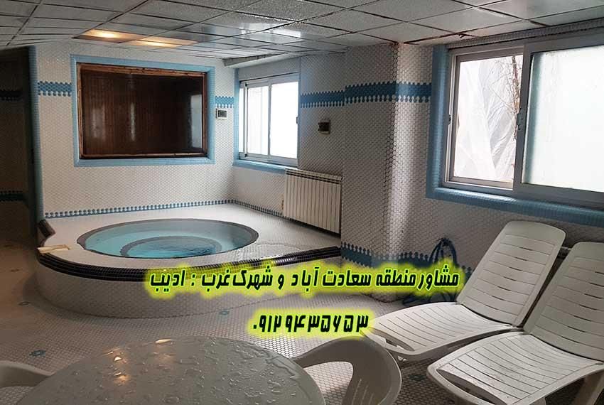 خرید خانه 3 خواب سعادت آباد