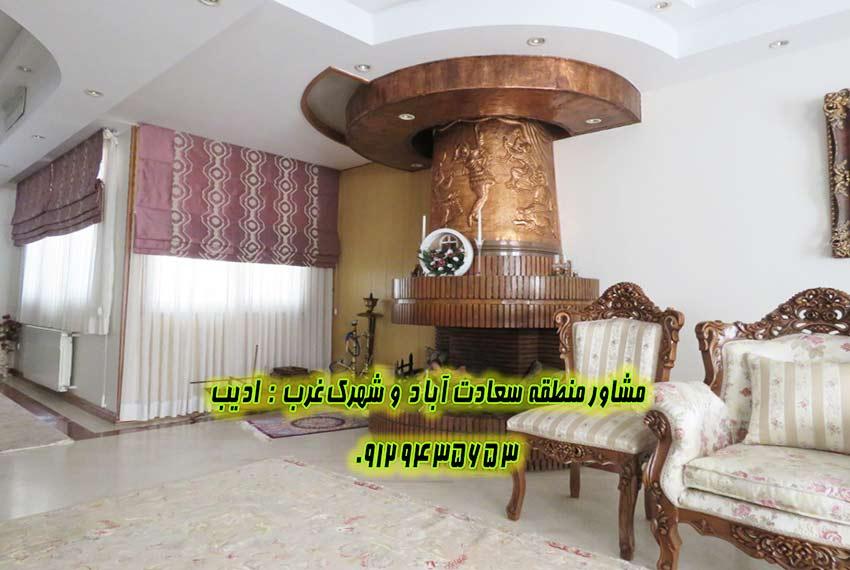 خرید خانه 310 متری بلوار سعادت آباد