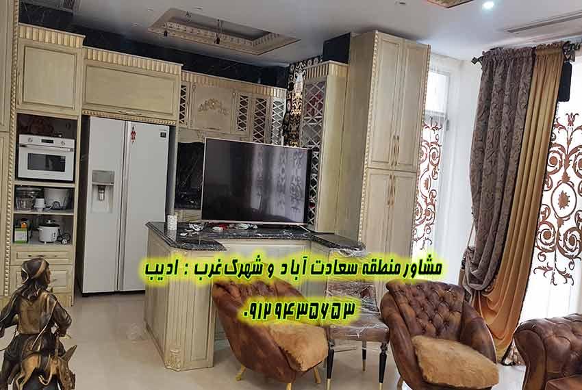 قیمت آپارتمان 100 متری بالای کاج