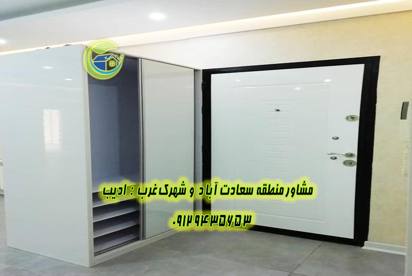 سعادت آباد آپارتمان 150 متری برای رهن