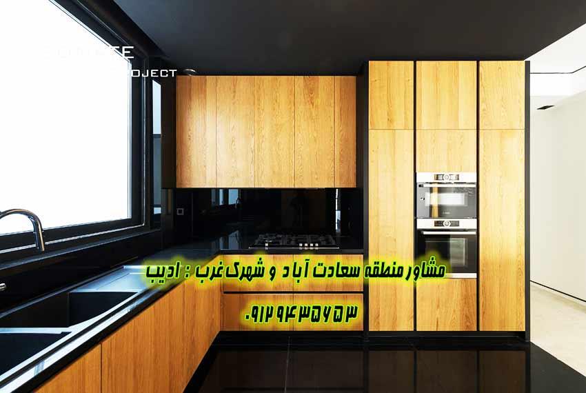 فروش آپارتمان 230 متر سعادت آباد