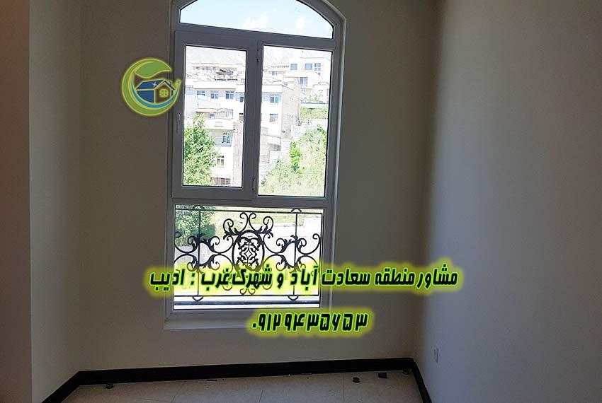 آپارتمان 110 متری در سعادت اباد