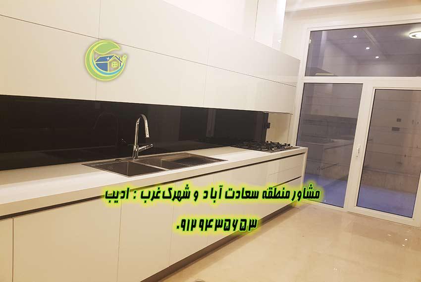 خرید اپارتمان 190 متر خیابان هفتم سعادت آباد