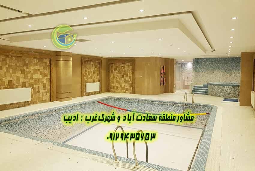 سعادت اباد 110 متر میدان شهرداری برای خرید