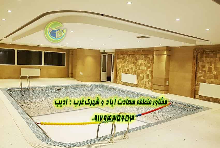 سعادت اباد 110 متر میدان شهرداری