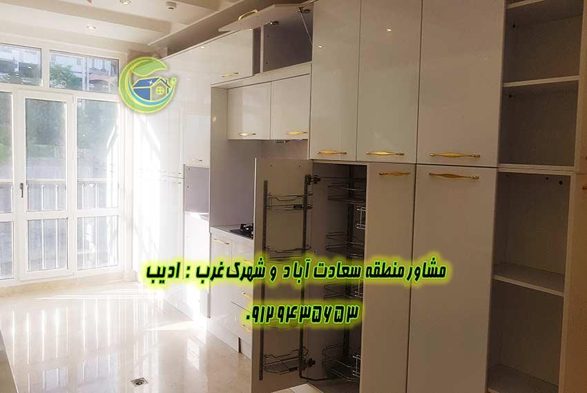 فروش آپارتمان 150 متر خیابان یکم سعادت آباد