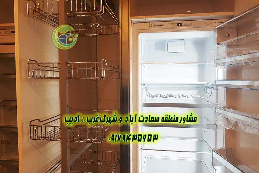 قیمت آپارتمان خیابان 7 سعادت آباد