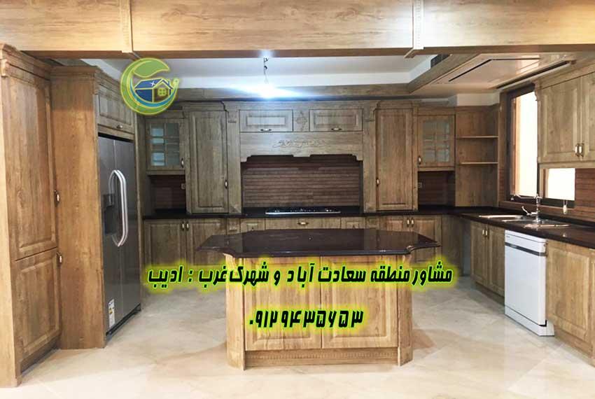 خرید آپارتمان 200 متری در بلوار سعادت آباد