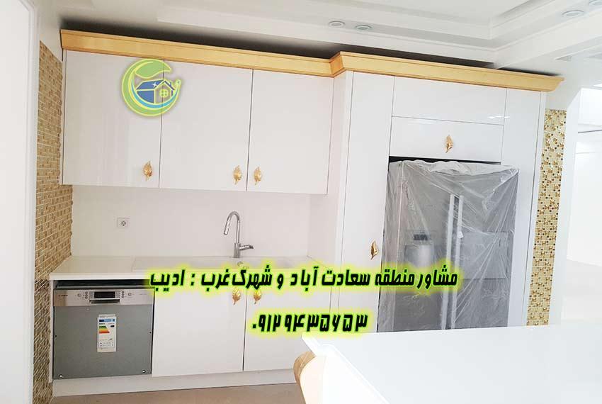 خرید آپارتمان 250 متری سعادت اباد کاج