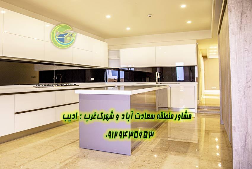 قیمت آپارتمان سعادت آباد 320 متری