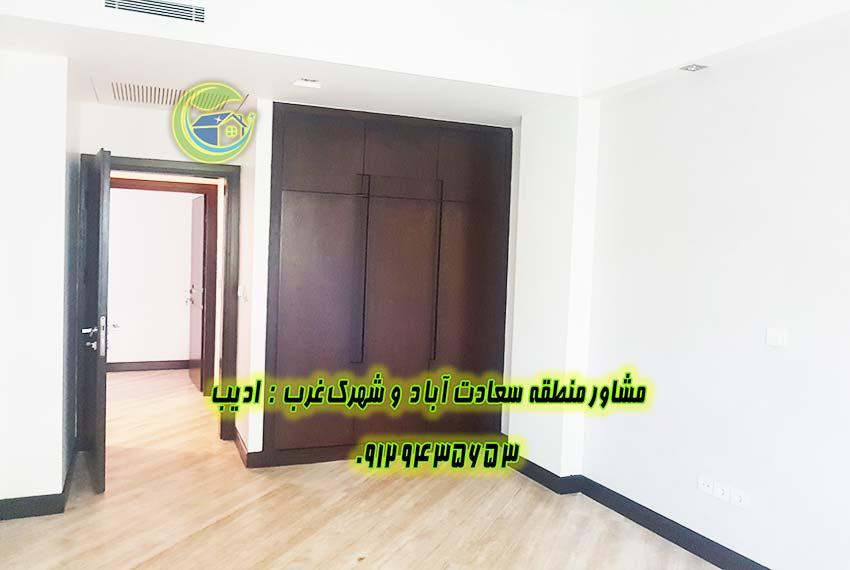 نرخ آپارتمان در سعادت اباد 110 متری