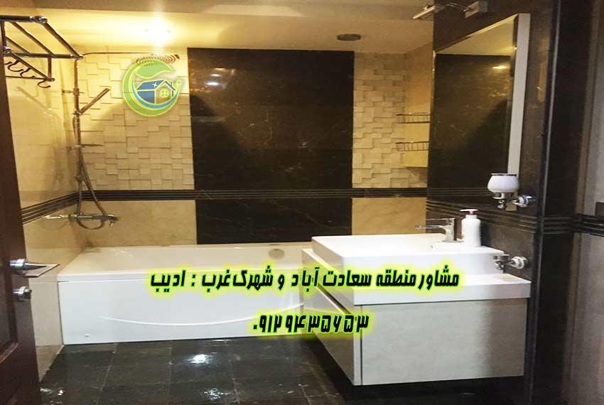 آپارتمان 200 متری در سعادت آباد