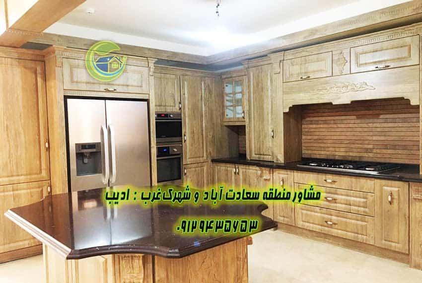 قیمت روز آپارتمان در سعادت آباد