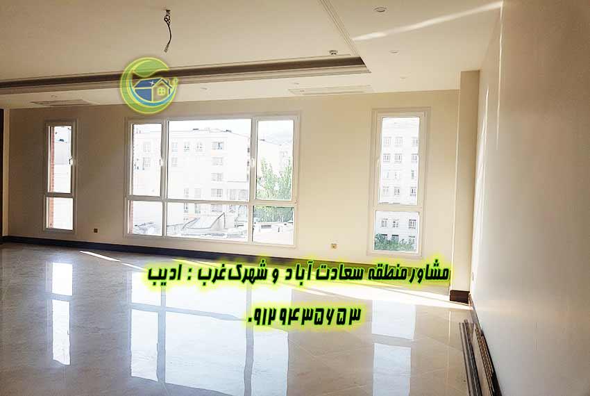 قیمت آپارتمان 4 خواب در سعادت آباد