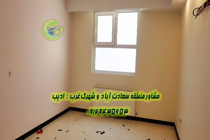 فروش اپارتمان 115 متر بلوار شهرداری سعادت آباد