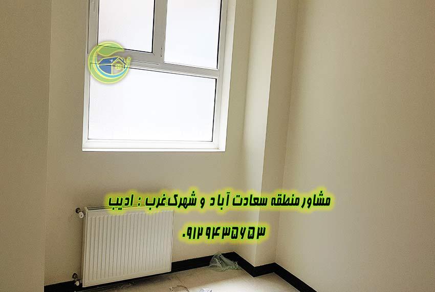 قیمت اپارتمان 115 متر بلوار شهرداری سعادت اباد