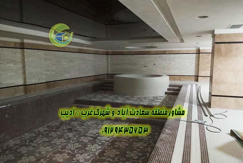 خرید آپارتمان 158 متر مروارید سعادت آباد