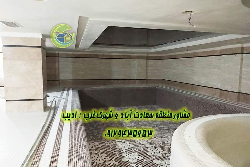 مروارید سعادت اباد خرید اپارتمان 158 متر