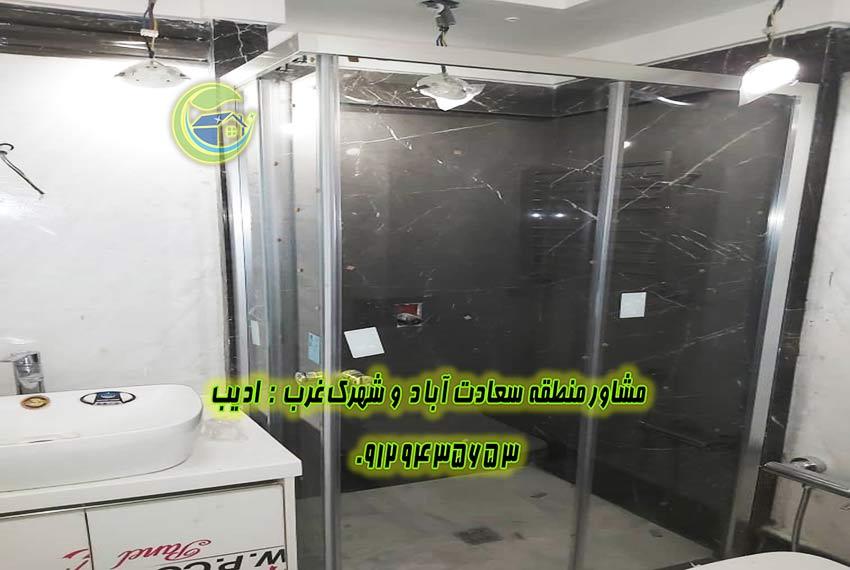 مروارید سعادت اباد قیمت آپارتمان 158 متر