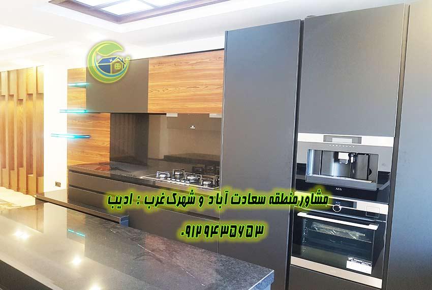 خرید آپارتمان سعادت آباد مروارید