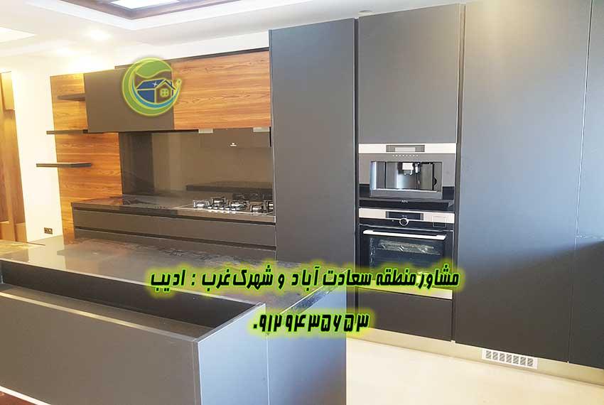 فروش آپارتمان 170 متر خیابان پنجم سعادت آباد
