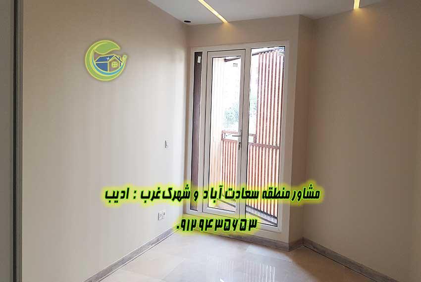 قیمت آپارتمان در سعادت آباد 85 متری